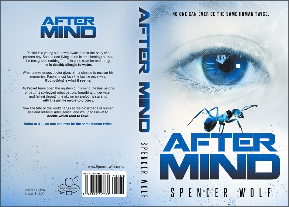 After Mind - Full Cover - Visionary Sci-Fi Adventure of Human-A.I. and Robot Dreams